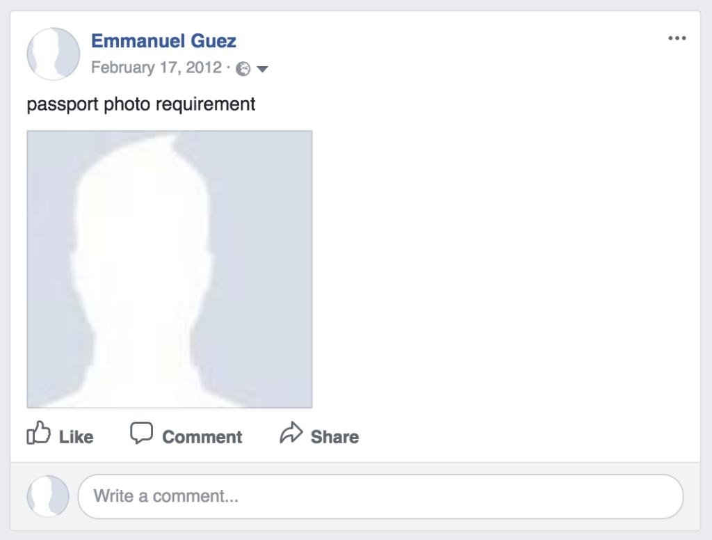 passport photo requirement
