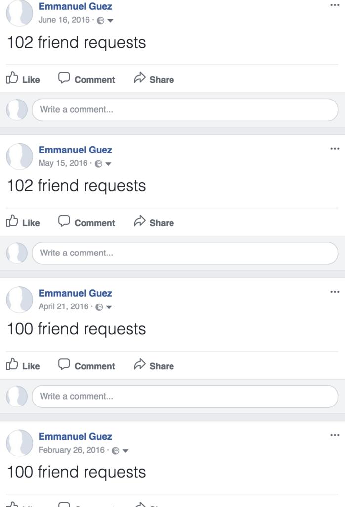 seul avec facebook_friend requests