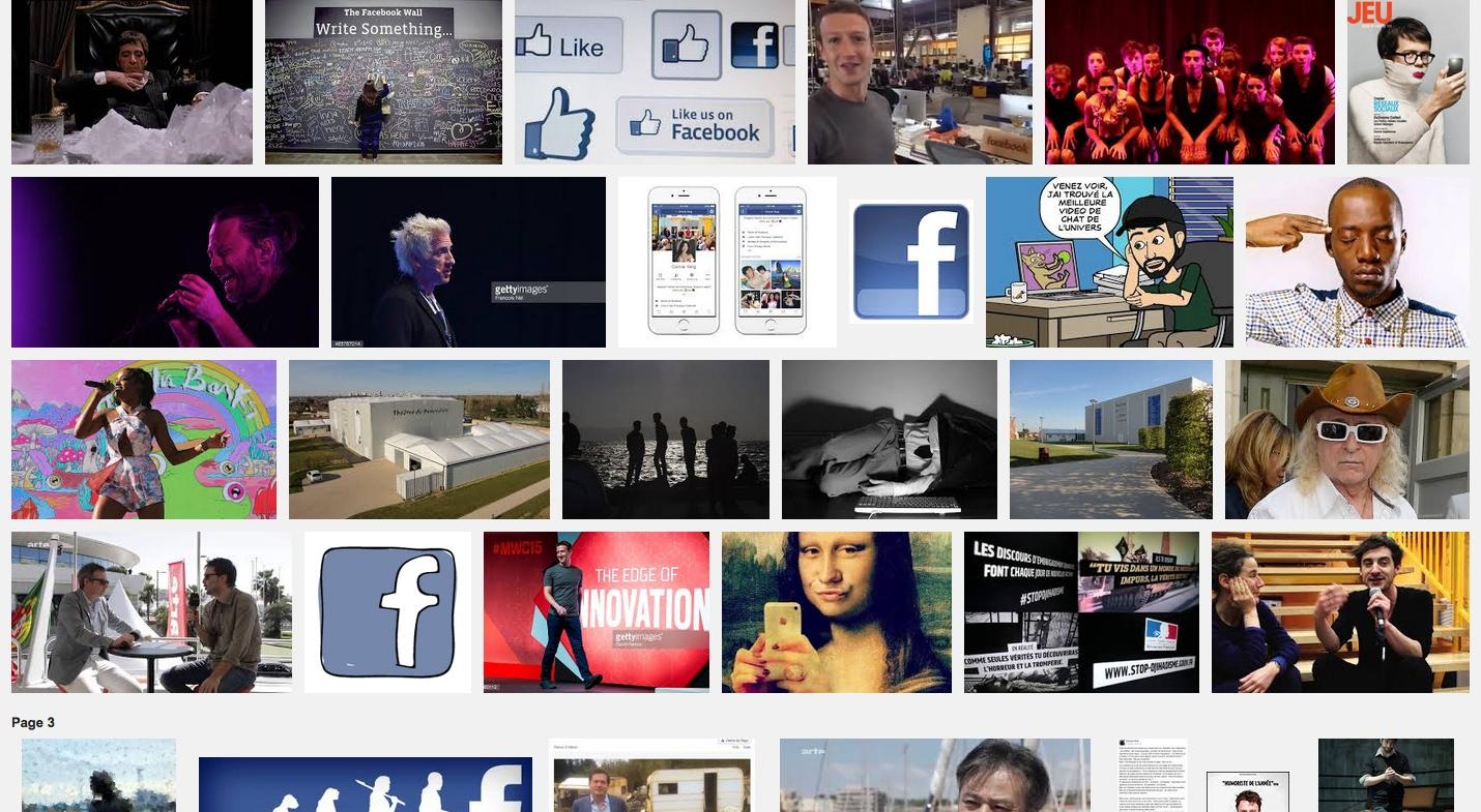 facebooksurscène – théâtre et réseaux sociaux