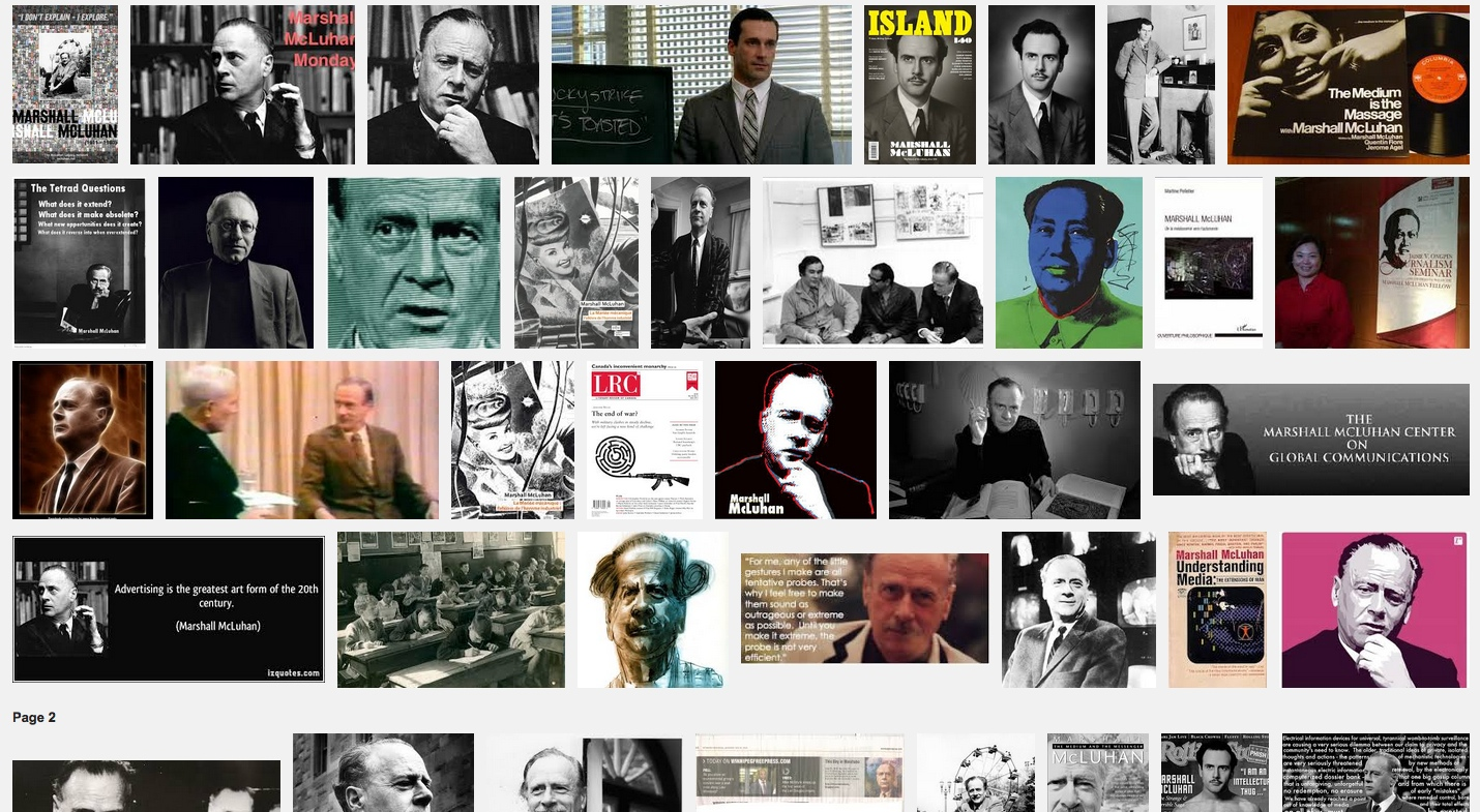 marshall mcluhan essay Laws of media – the four effects: a mcluhan contribution to social epistemology  marshall mcluhan  to republish the first part of this essay,.
