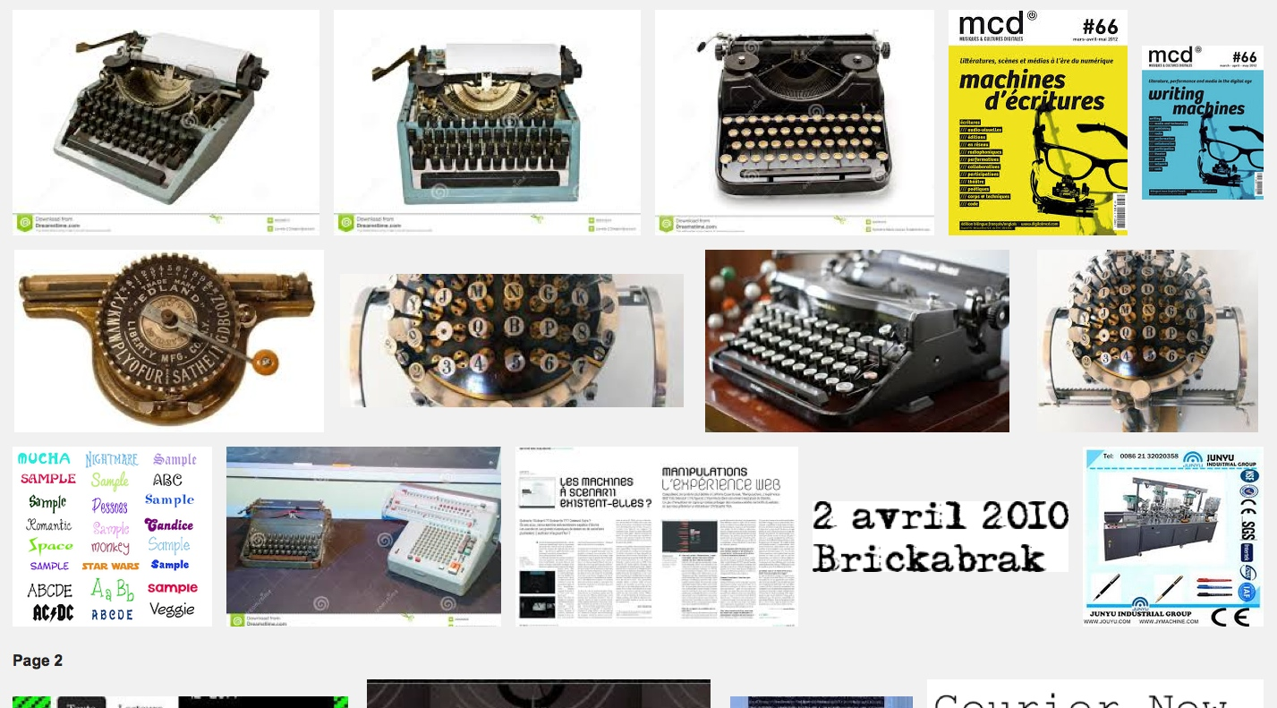 Machines d'écritures – MCD#66 – Gaîté Lyrique – 15 mars 12