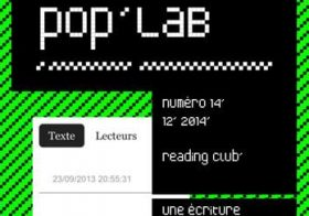 [parution] Reading Club – Poplab – décembre 14